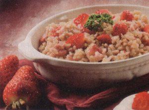 Rižoto s jagodama