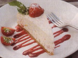 Veganski Cheesecake s jagodama