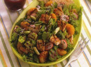 Salata s piletinom i mandarinama