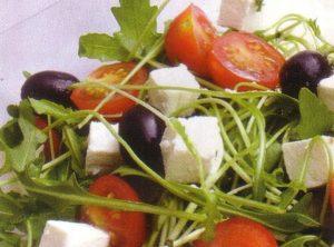 Salata s rikolom